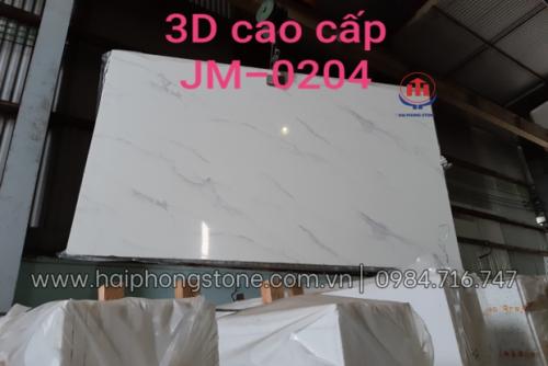 Đá Nhân Tạo 3D cao cấp JM 0204