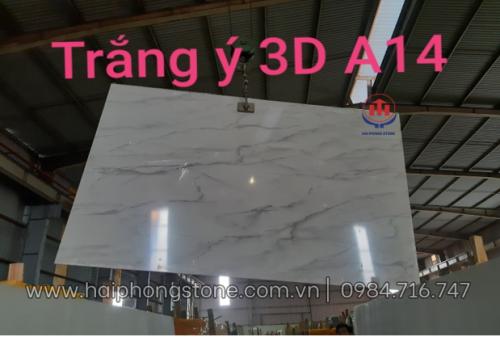 Đá Nhân Tạo Trắng Ý 3D A14