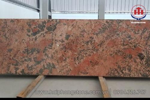 Đá granite Alaska Red (khổ nhỏ)