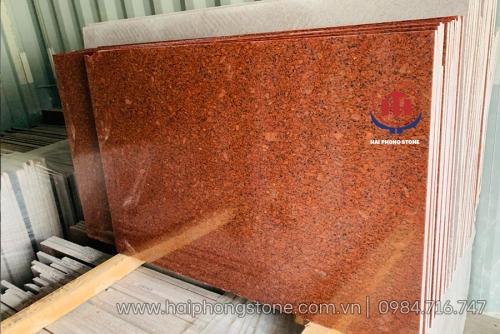Đá Granite Imperial Red (đỏ hoàng đế)